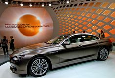 A bmw 6er gran coupe car Royalty Free Stock Image