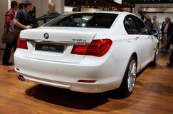 BMW 7 reeksen stock foto's