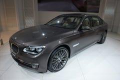 BMW 7 serie - världspremiär Royaltyfria Bilder