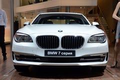 BMW 7 serie - världspremiär Royaltyfria Foton