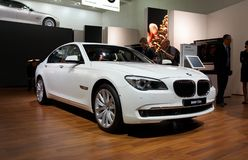 BMW 7-series stock photography