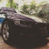 Фронт BMW Стоковые Фотографии RF