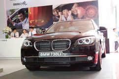 BMW 730 Li car Stock Photo