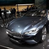 BMW 免版税库存照片