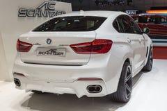 BMW 2015 AC Schnitzer X6 (F15) Стоковое фото RF