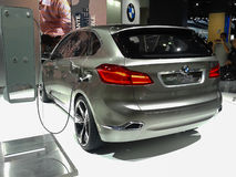 BMW Active Tourer concept hybrid car Stock Image