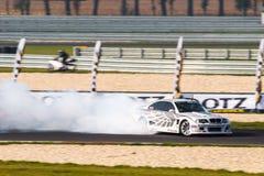BMW-afwijkingsauto Stock Foto's
