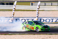 BMW-afwijkingsauto Royalty-vrije Stock Afbeelding