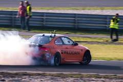 BMW-afwijkingsauto Stock Afbeeldingen