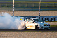 BMW-afwijkingsauto Stock Afbeelding