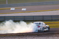 BMW-afwijkingsauto Stock Foto