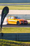 BMW-afwijkingsauto Stock Fotografie