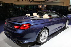 Bmw alpina on 64rd IAA Royalty Free Stock Photography