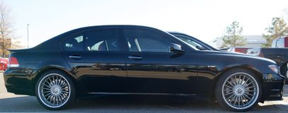 BMW Alpina B7 automobile. Stock Image