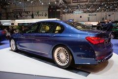 BMW Alpina B7 Bi-turboladdare Arkivbild