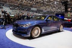 BMW Alpina B7 Bi-turboladdare Royaltyfri Bild