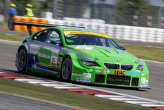 BMW Alpina B6 GT3(ADAC GT Masters). BMW Alpina B6 GT3, ADAC GT Masters, August 22. 2009.Curcuit Nurburgring,GT3 class, Andreas WIRTH(GER)/Jens KLINGMANN(GER), # Royalty Free Stock Photography