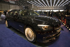 BMW Alpina Bi-Turbo All Road. At the 2011 edition of the Geneva Motorshow Stock Photos