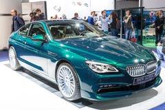 BMW Alpina på IAAEN 2015 Royaltyfria Foton
