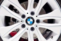 BMW Aluminium Wheel Stock Image