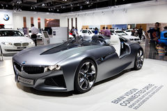 BMW-Anblick-Auto-Prototyp Stockfotografie