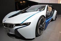 BMW-Anblick-effizientes Dynamikauto stockfotos