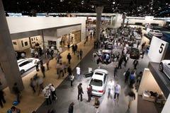 BMW-angemessener Standplatz an 64. IAA Frankfurt 2011 Lizenzfreie Stockfotografie