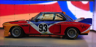BMW Art Car Image stock