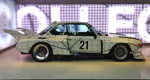 BMW Art Car Royalty Free Stock Image