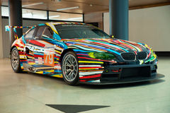 BMW Art Car Royalty Free Stock Photo