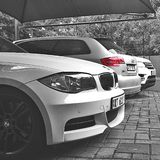 Bmw & Audi Royalty Free Stock Images