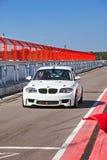 BMW auf pitlane- 27. August lizenzfreie stockbilder