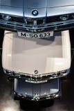 BMW-Auto-Geschichten-Standplatz Lizenzfreies Stockfoto