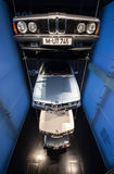 BMW-Auto-Geschichten-Standplatz Lizenzfreie Stockfotografie