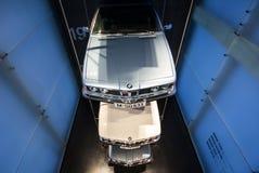 BMW-Auto-Geschichten-Standplatz Lizenzfreie Stockbilder