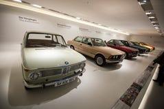 BMW-Auto-Geschichten-Standplatz Stockbilder