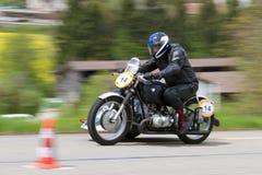 BMW Baginski de motocyclette de cru de 1947 Photo stock