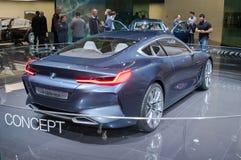 BMW begrepp för 8 serie Fotografering för Bildbyråer