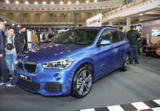 BMW an Belgrad-Car Show Stockfotos