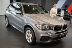 BMW X5. Belgrade, Serbia - March 23, 2017: New BMW X5 presented at Belgrade 53th International Motor Show - MSA OICA stock images