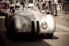BMW 328 Berlin Rome bei Mille Miglia 2016 Stockbilder
