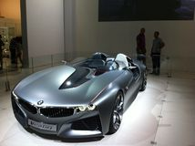 BMW bil Royaltyfria Foton