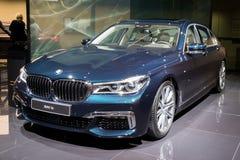 BMW bil för 7 serie Arkivfoton