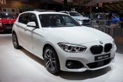 BMW bil för 1 serie Arkivfoton