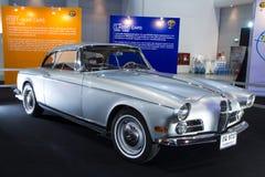 BMW bil på expo för Thailand Internationalmotor Royaltyfri Fotografi