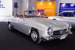 BMW bil på expo för Thailand Internationalmotor Fotografering för Bildbyråer