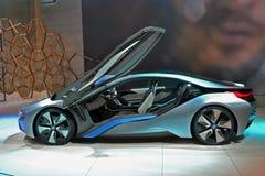 BMW #3 bonde carregado i8 Fotografia de Stock Royalty Free