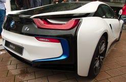 BMW bonde i8 nos carros de IAA Fotos de Stock