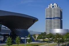 BMW-Borte und -Hauptsitze in München stockfoto