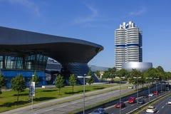 BMW-Borte und -Hauptsitze in München stockbild